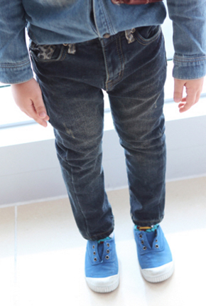 NO.114-napping lining Span exhaust Jean