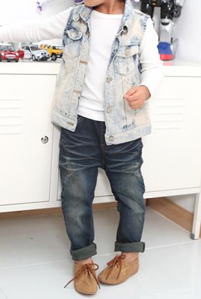 NO. (Children) Vintage Vintage Baggy jeans 104