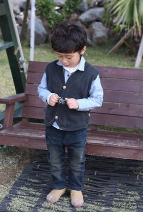 . NO bonding raising - Smurf exhaust jeans NA024