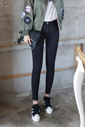 NA845 (25-34) <br> Modern Black napping Jeans