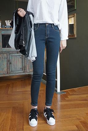 NA847 (25-32) <BR> Nappa napping Jeans