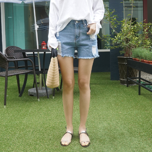 EJ121 (S ~ XL) <BR> Travel Diary Part 3 Hot Pants