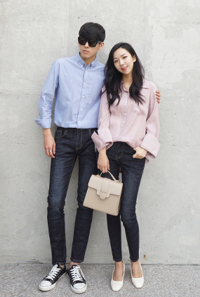 (male / female Couples) <BR> BO-7 NA1003 <BR> Hemingway Jeans