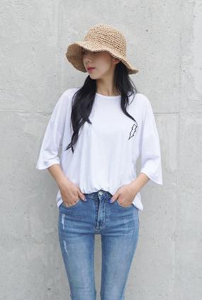 ★ Summer only ★ <BR> T-shirt uniform price <BR> Lightning T-Charcoal / Khaki