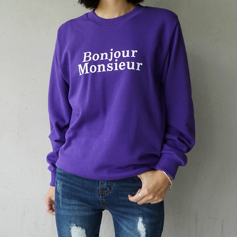 Bonjour Pitman to Man <BR> (M to XXXL) <br> <FONT color=#f91305>(Wearing third-order reorder)</font>