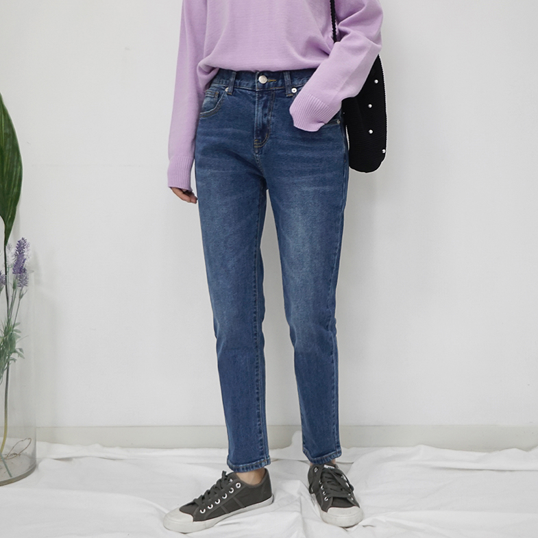 NA1400 (S to XXL) <br> Abyss Back Banding Baggy jeans